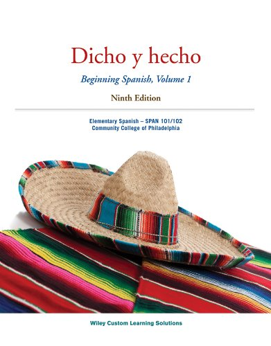 Dicho y hecho 9th edition activities manual dicho