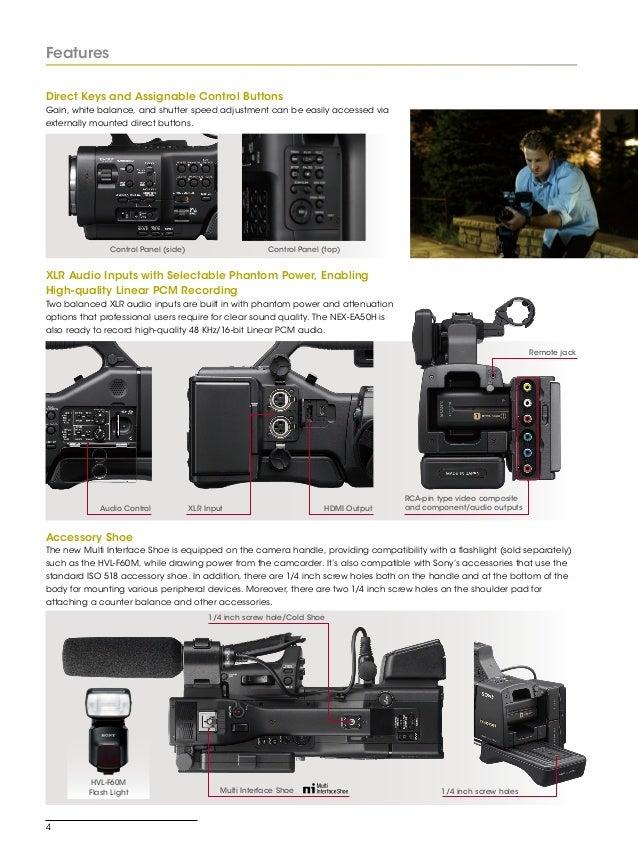 sony nex ea50 uh camera manual