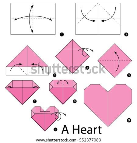 easy origami heart instructions pdf