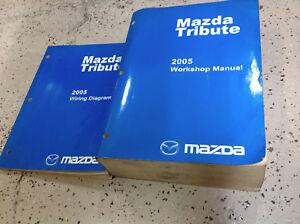 2002 mazda tribute workshop manual