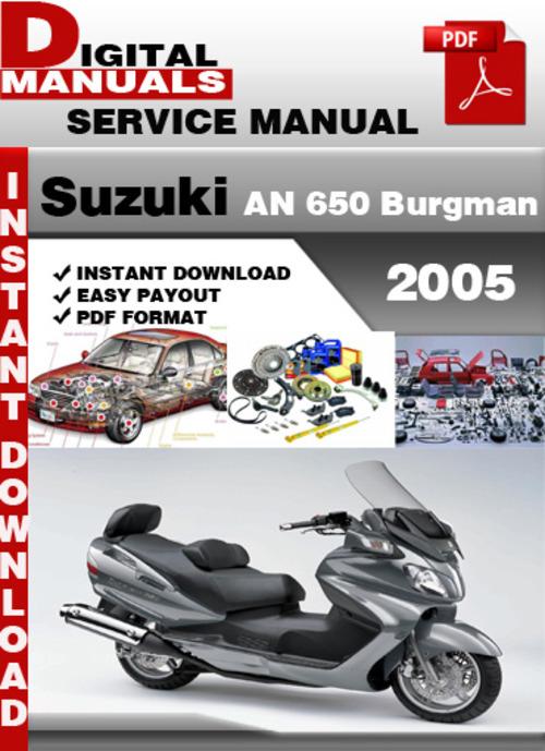 2005 suzuki burgman 650 owners manual pdf