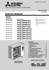 mitsubishi air conditioner srk20zj-s manual