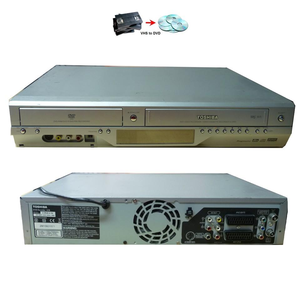Toshiba dvd recorder dr7 manual