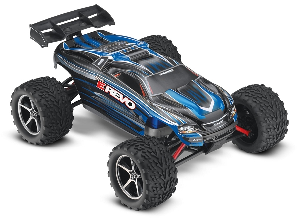 Traxxas e revo brushed manual
