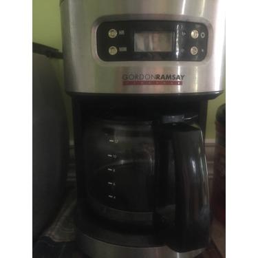 gordon ramsay everyday coffee maker manual