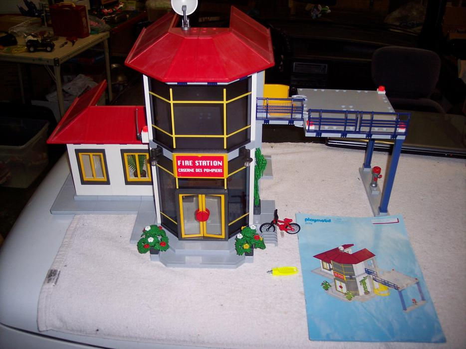 playmobil fire station 4819 instructions