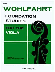 Wohlfahrt foundation studies for the viola pdf