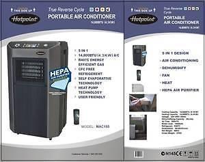 Mac120 hotpoint air con pdf user manual