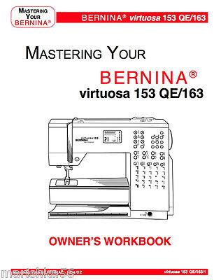 Bernina virtuosa 150 qe manual