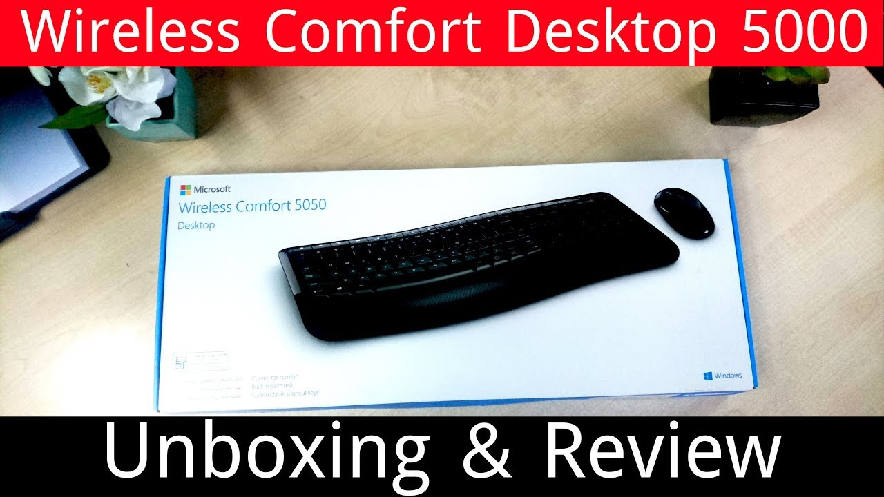 Wireless comfort desktop 5050 manual