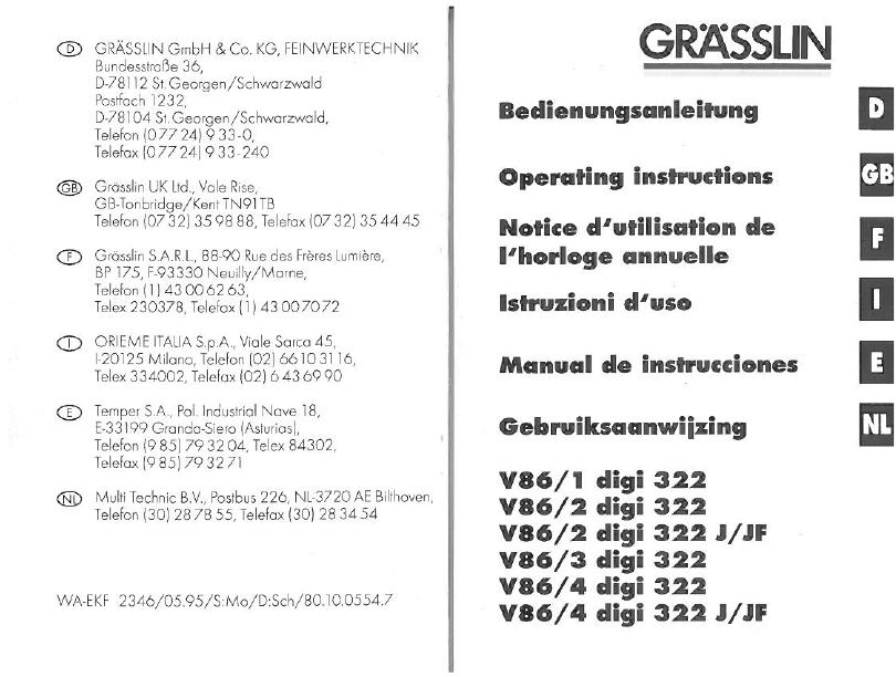 grasslin v86 1 digi 20 manual