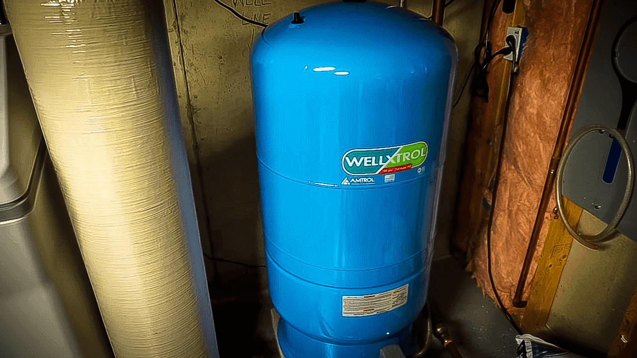 Wellmate water system pressure tank manual