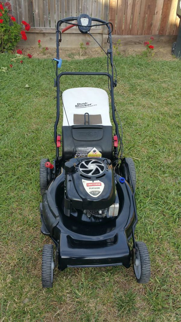 craftsman platinum 7.00 lawn mower manual