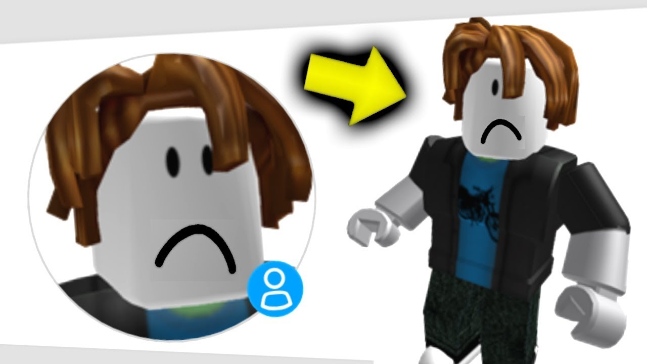 Roblox how to get bacon hair