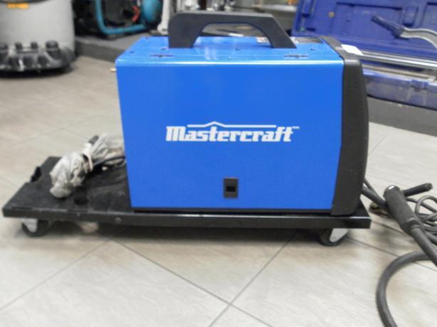 mastercraft mig and flux welder instructions