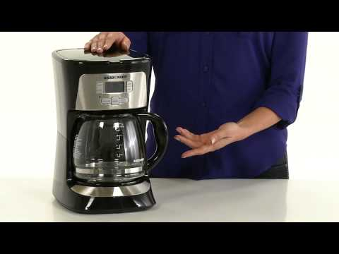 black and decker coffee maker cleaning instructions