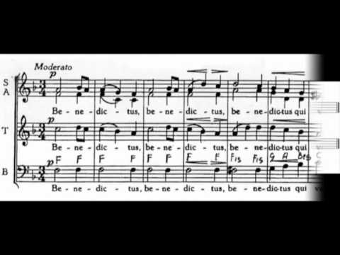 Benedictus robat arwyn sheet music pdf