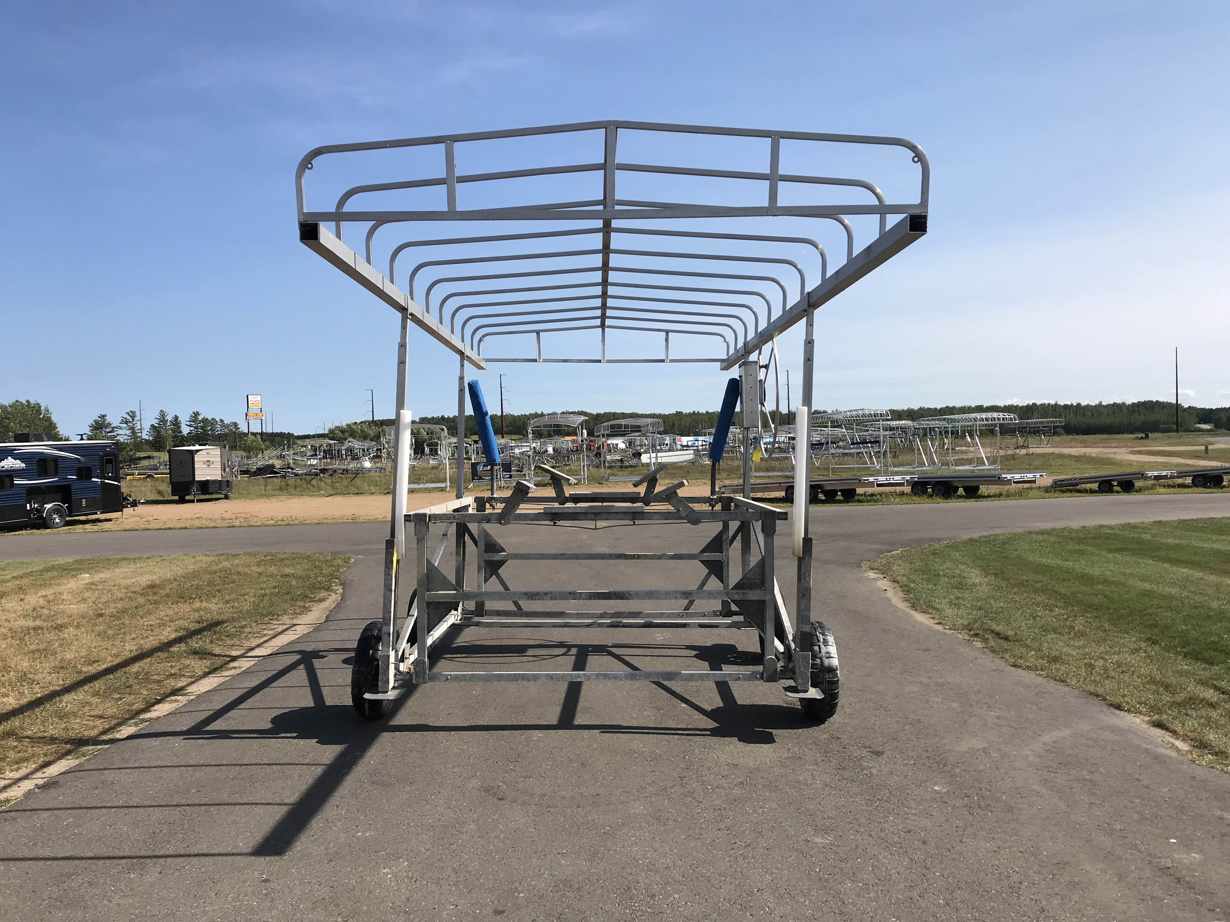 hewitt cantilever boat lift manual