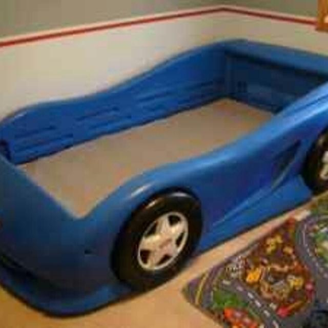 little tikes blue car bed assembly instructions