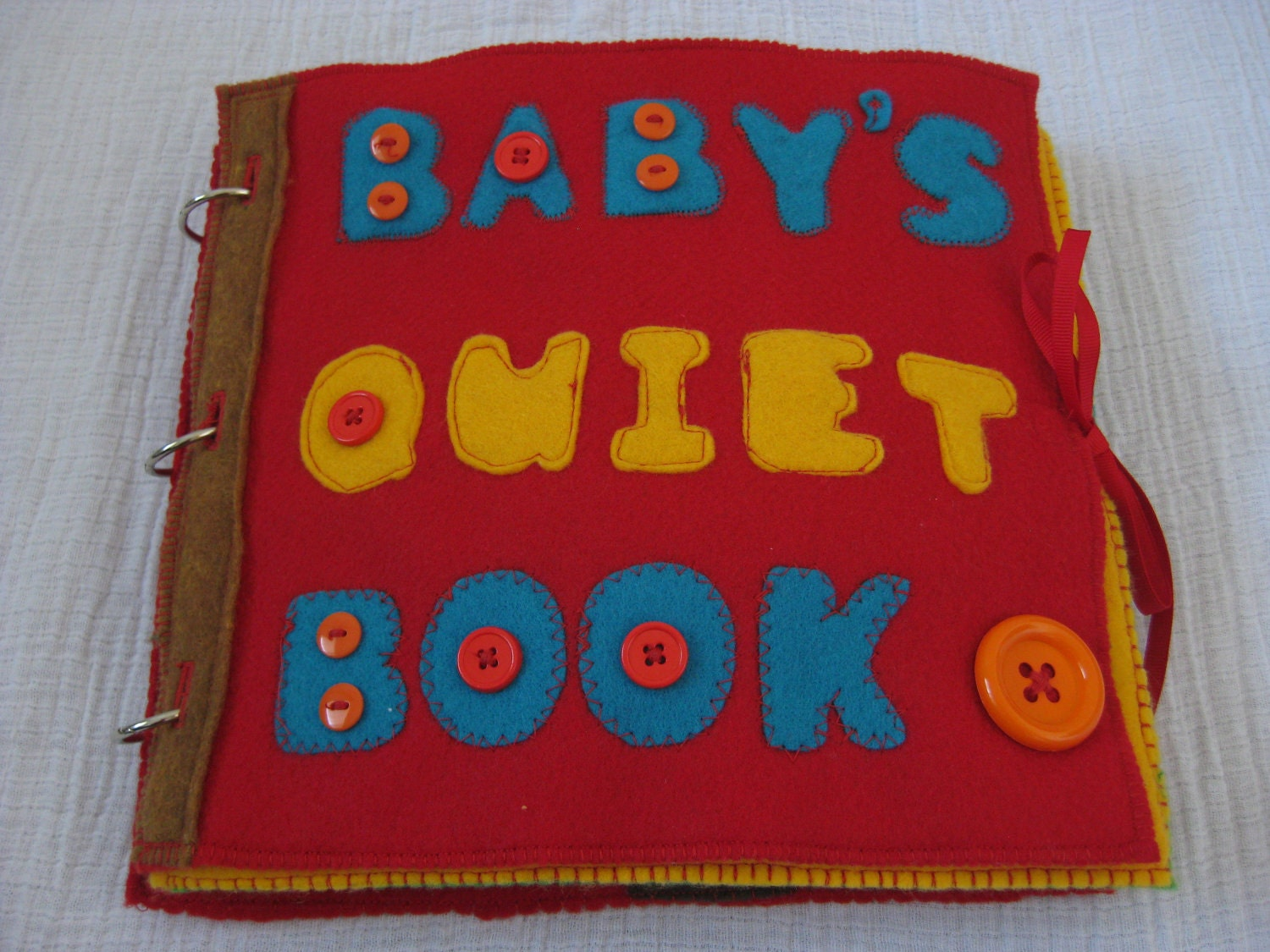quiet book instructions free