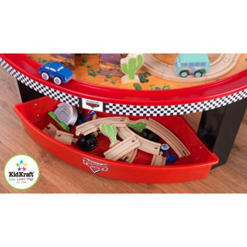 kidkraft radiator springs race track and play table instructions