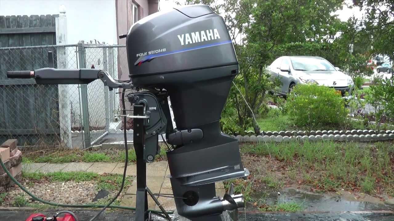 Yamaha 9.9 hp 4 stroke manual