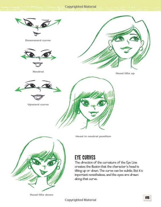 Cartoon faces how to draw faces features and expressions
