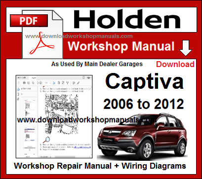 2009 holden captiva 7 owners manual