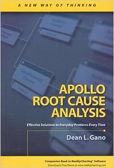 Apollo root cause analysis a new way of thinking pdf
