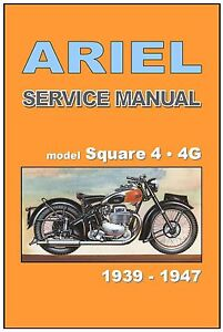 Ariel square four workshop manual