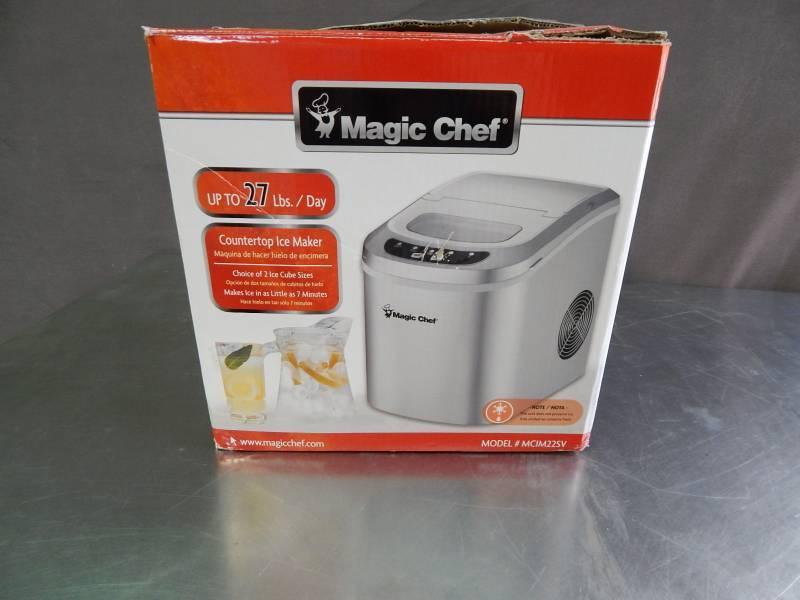 magic chef countertop ice maker manual