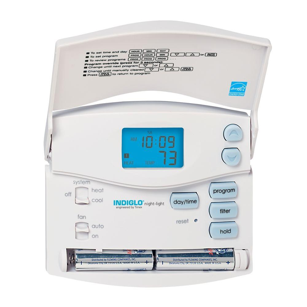 braemar manual digital thermostat reset