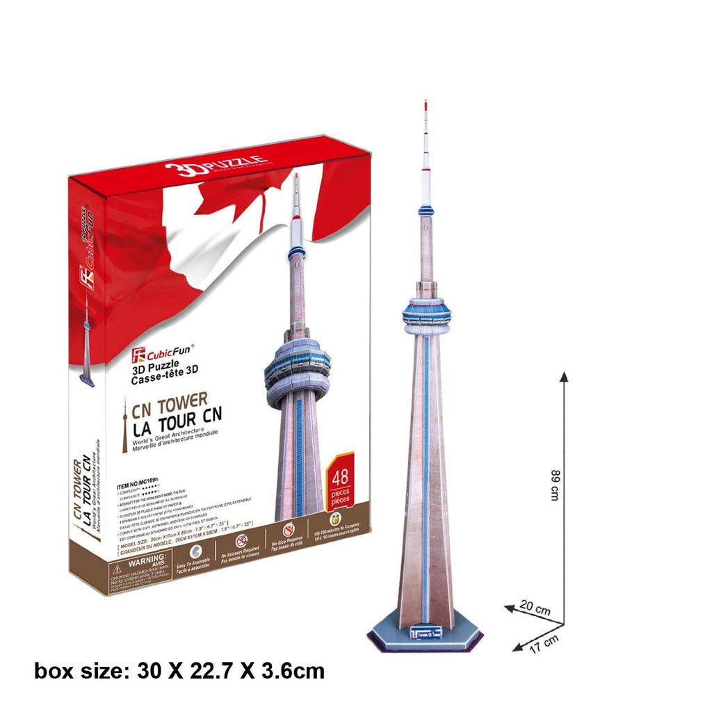 cn tower casse tete 3d instructions