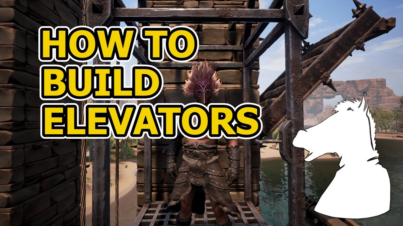 Conan exiles how to build elevator