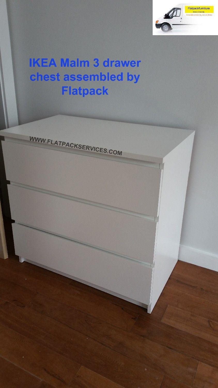 malm drawer ikea instructions