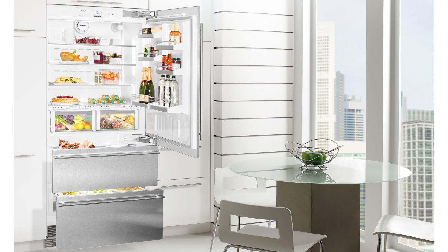 Liebherr integrated fridge freezer installation instructions