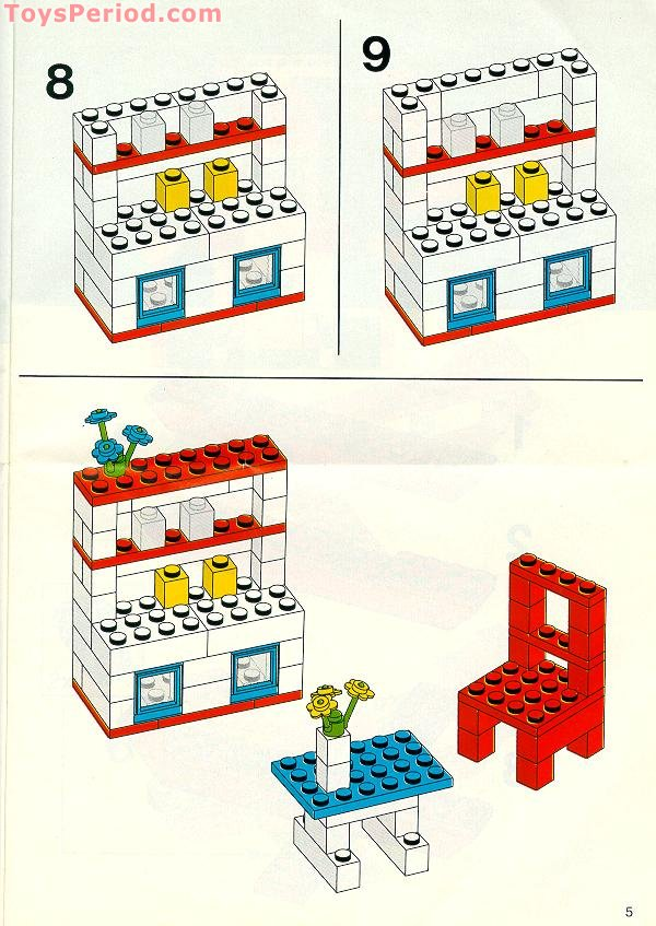 easy lego instructions free