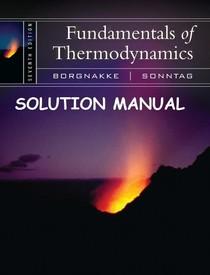 Fundamentals of engineering thermodynamics solutions manual 7th pdf
