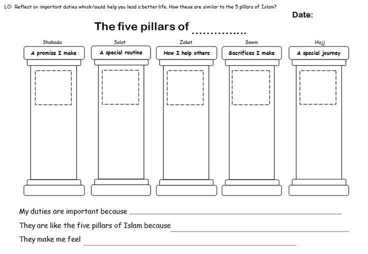 Five pillars of islam pdf