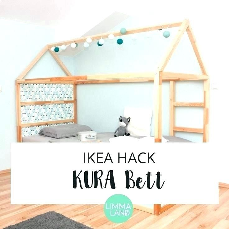 ikea kura bed hack instructions