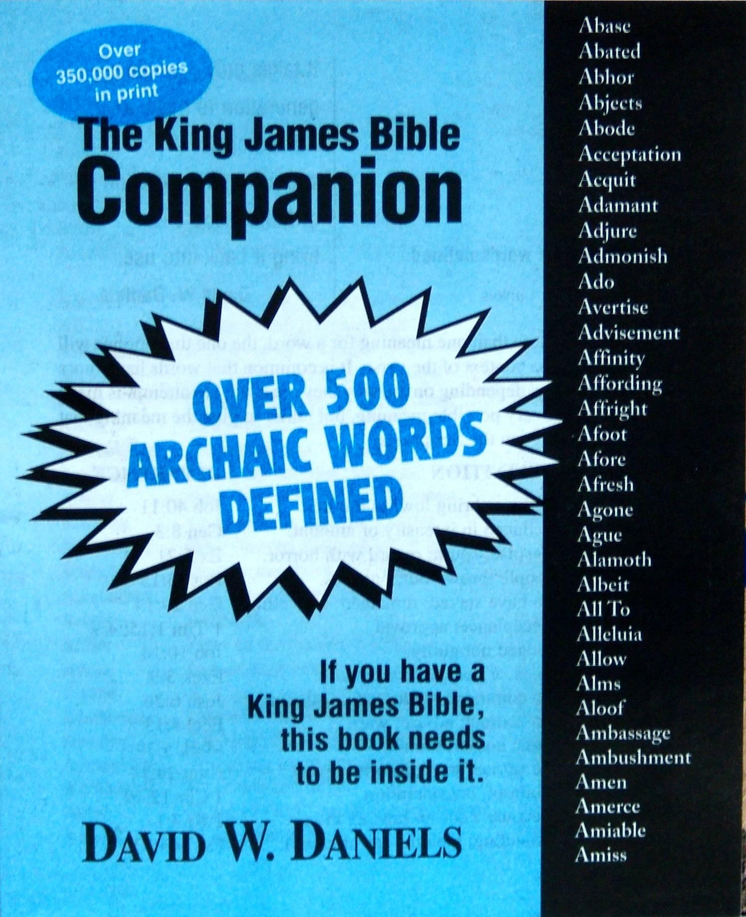 King james bible companion pdf
