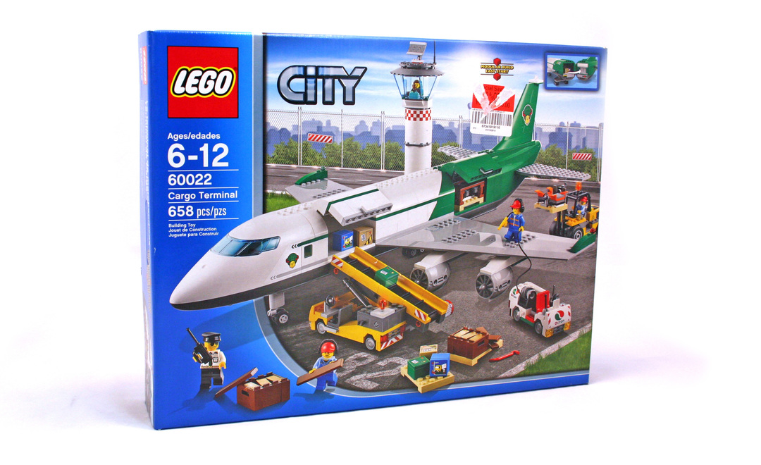 Lego plane instructions 60022