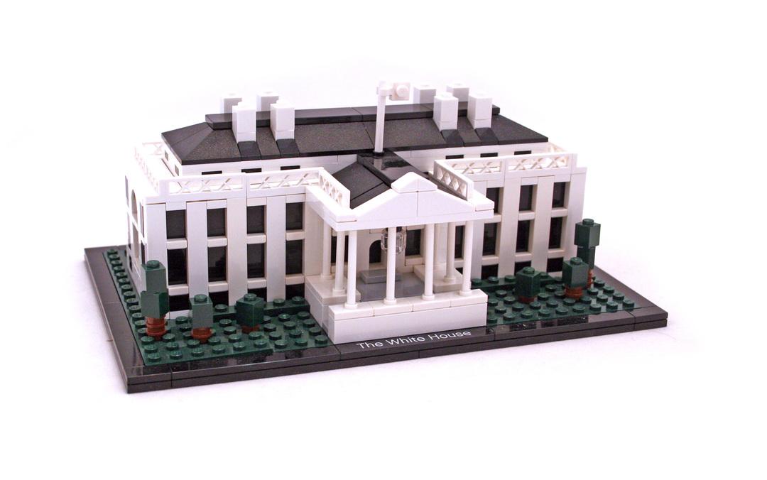lego white house instructions