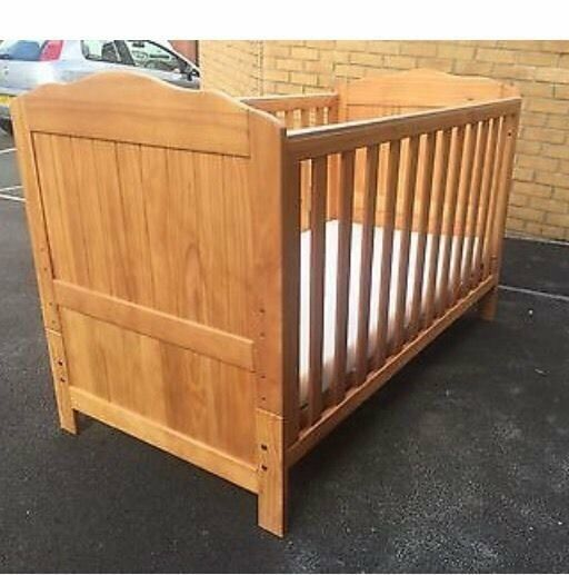 mothercare bedside cot instructions