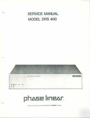 phase linear 2000 owners manual