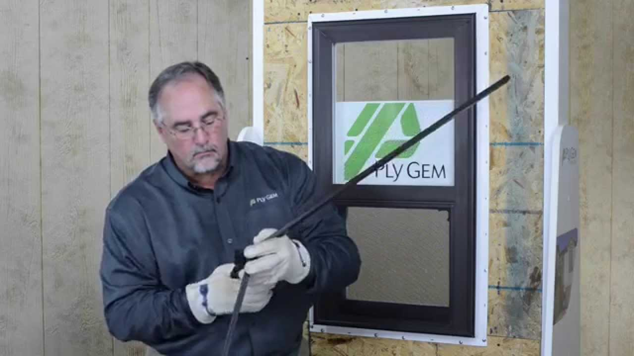 ply gem window installation instructions