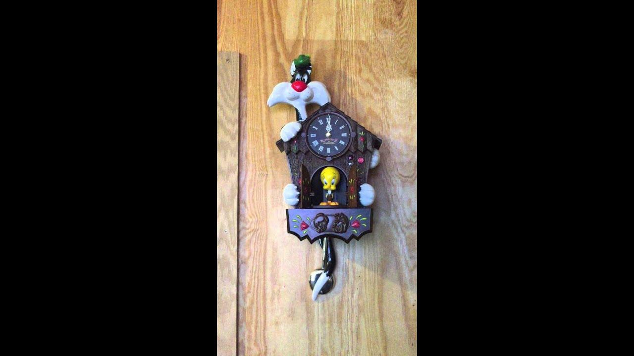 Sylvester tweety cuckoo clock instructions