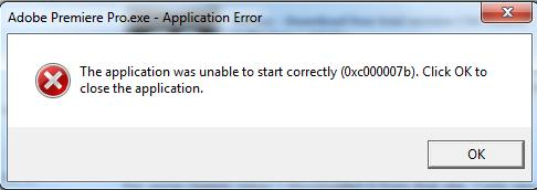 The application was unable to start correctly 0xc0000022 adobe reader