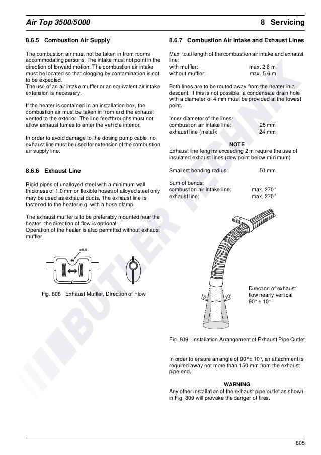 webasto air top 3500 installation manual
