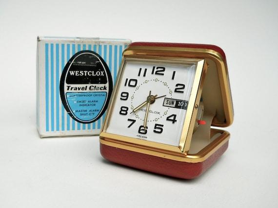 westclox travel alarm clock instructions